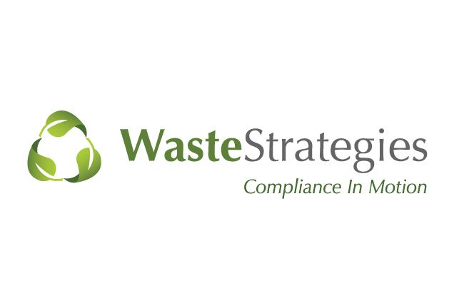 Logo designed for a local waste management company.